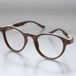 HILARIUS - handcrafted wooden spectacles